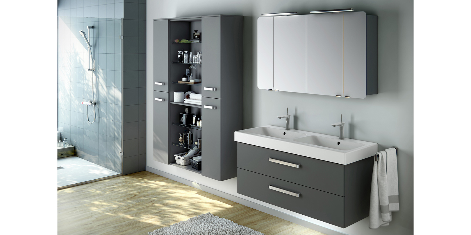 413 - ARTIQUA 400   Baukastensystem und Waschtischunterschränke ...